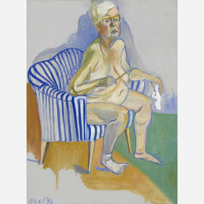 Alice Neel, Self-Portrait, 1980